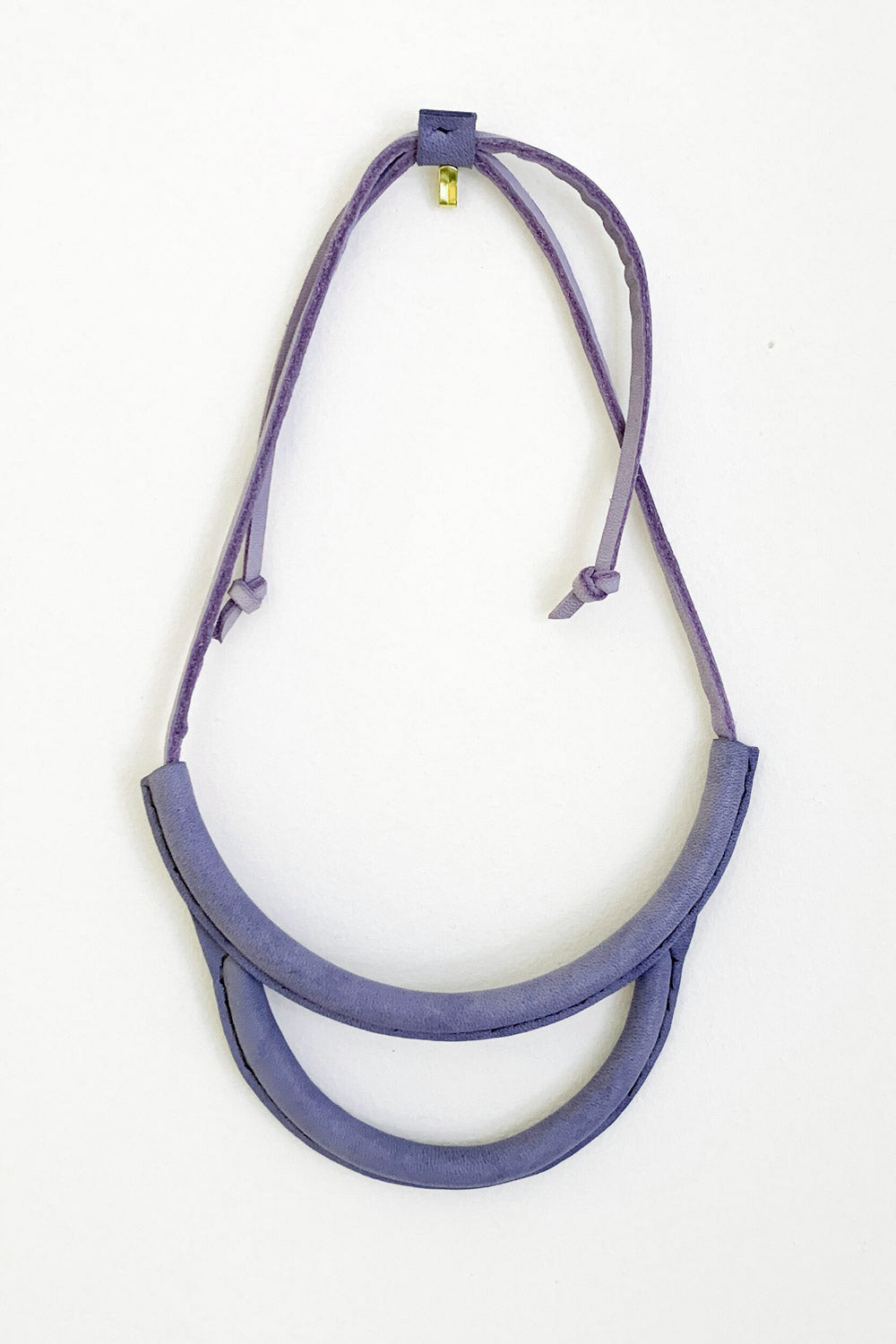 Arc Necklace in Lavendar