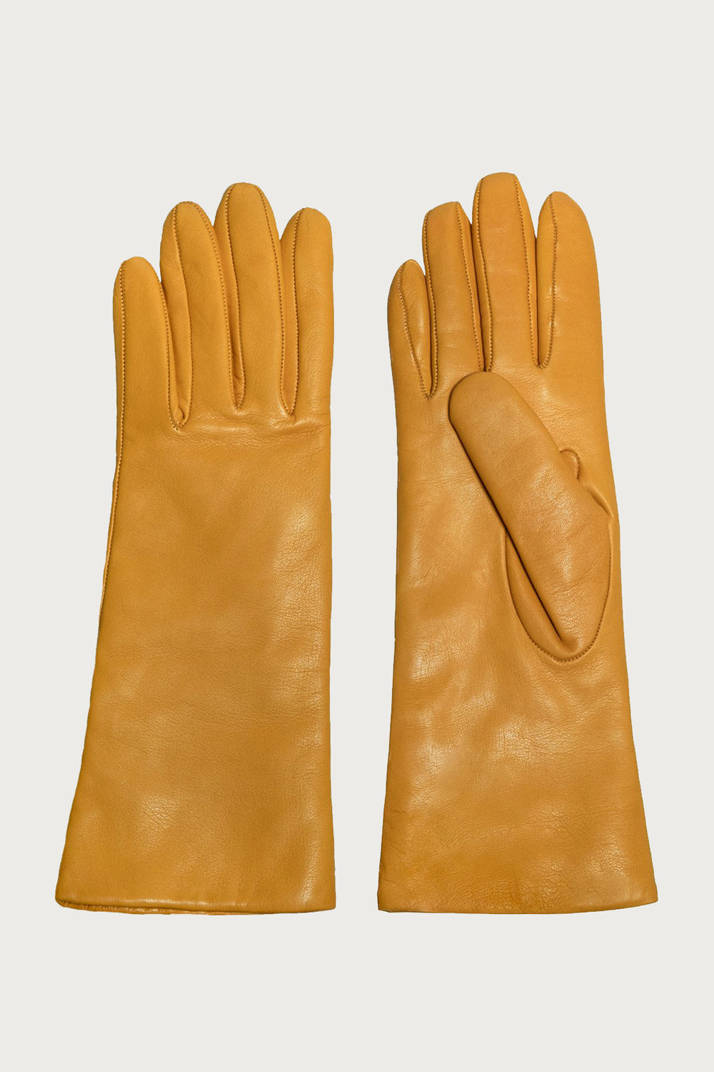 Classic Gloves in Deerskin Yellow