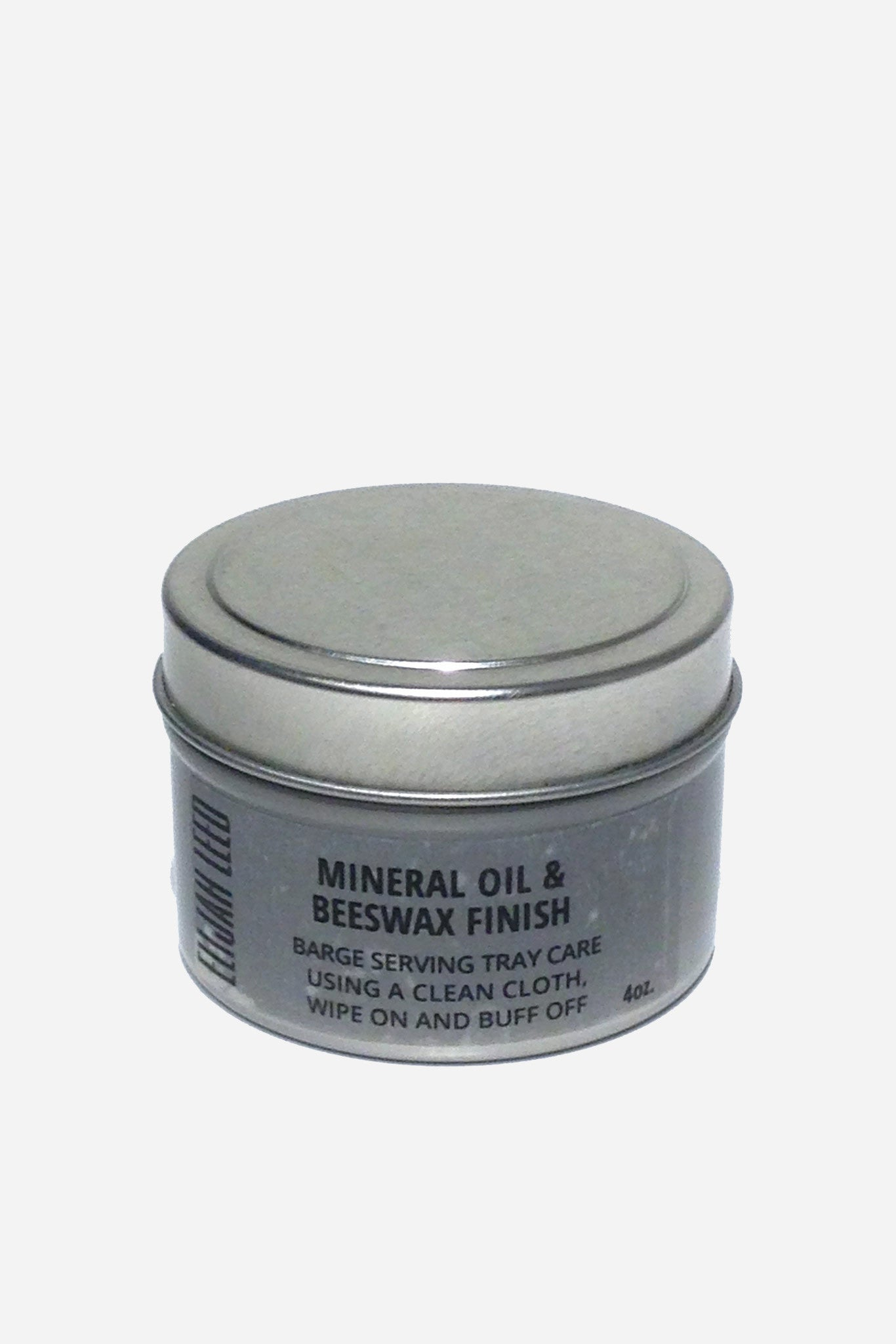 Mineral oil and beeswax treatment