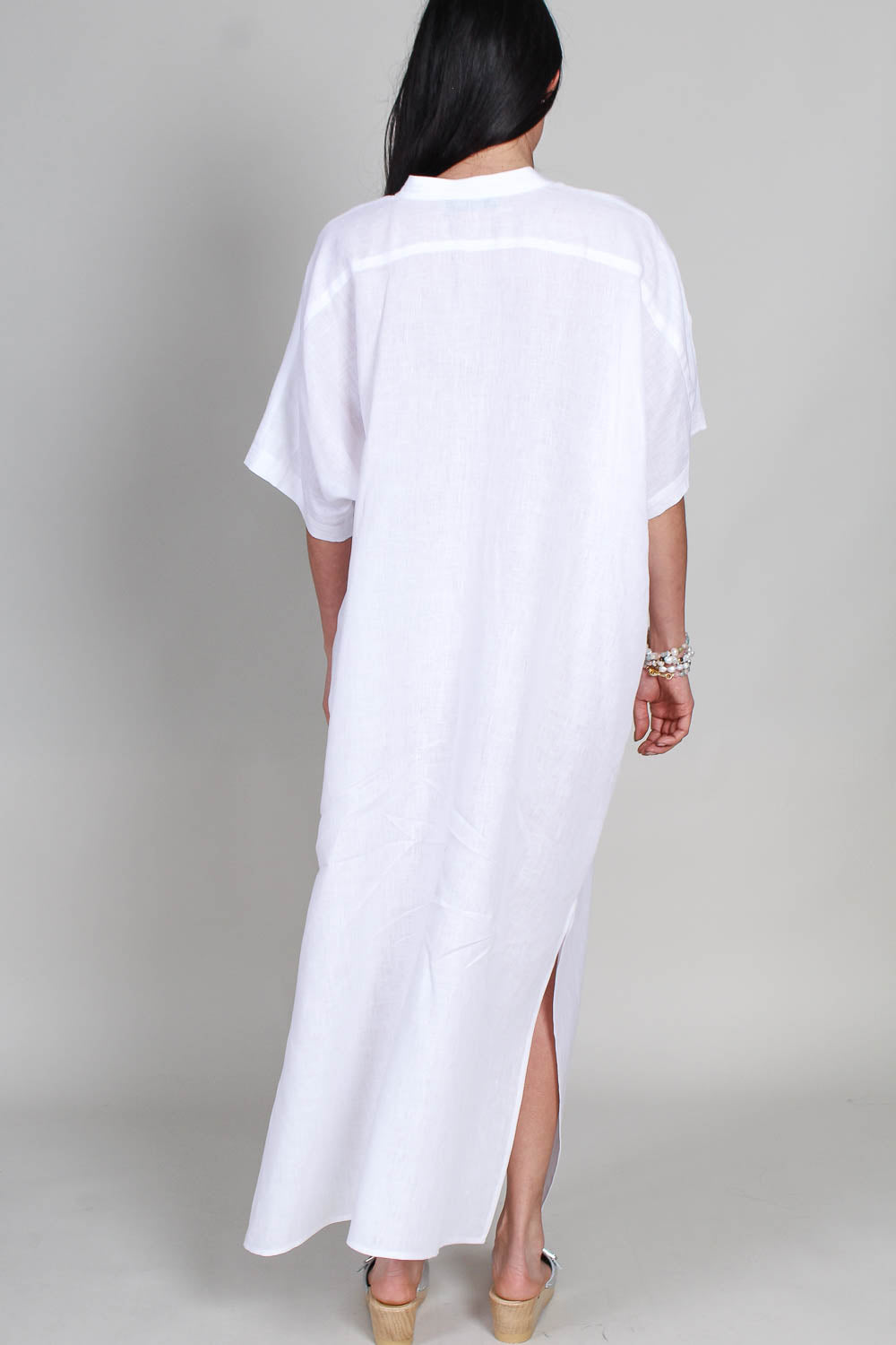 Culver Dress in White