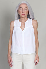 Carrie Tank in White