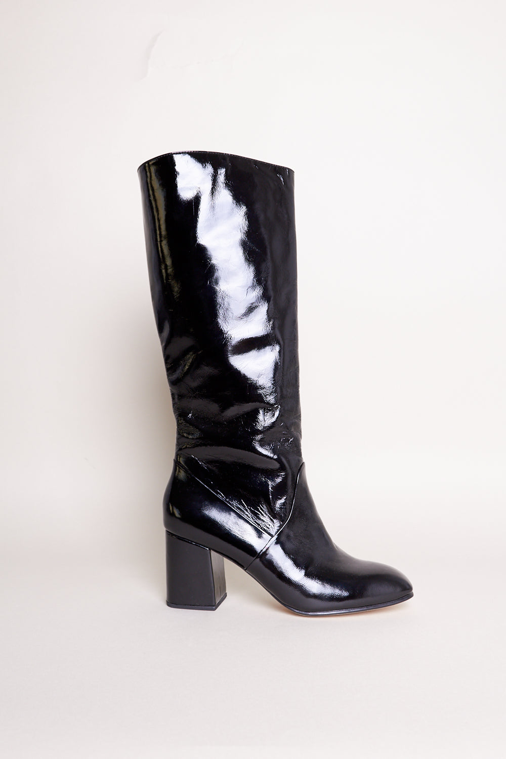 Sloan Knee High Boot in Ink