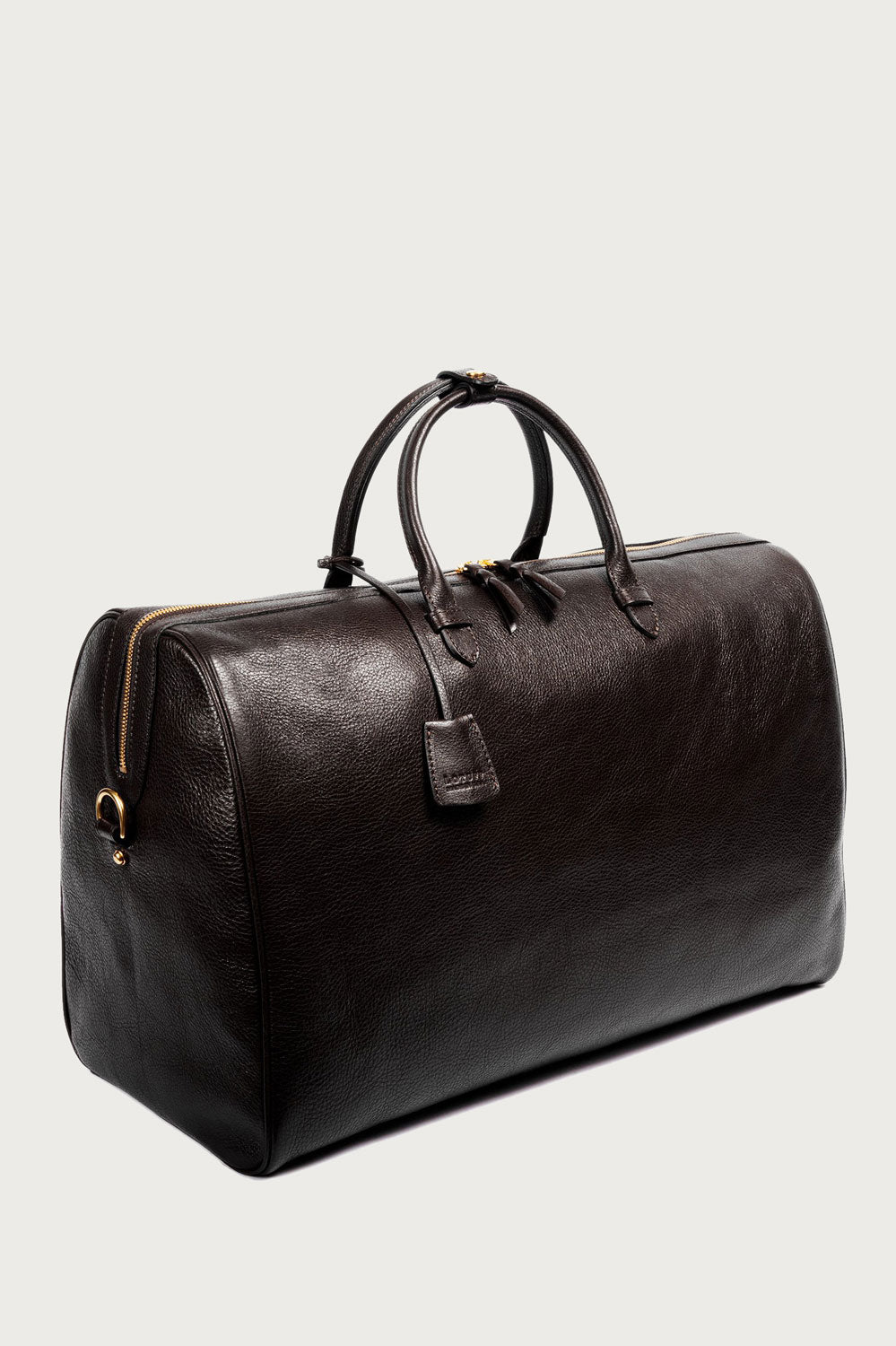 Lotuff Leather The No.12 Weekender in Chocolate - Vert & Vogue