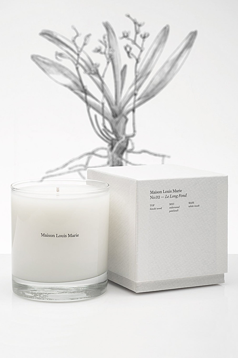 No. 2 Le Long Fond Candle
