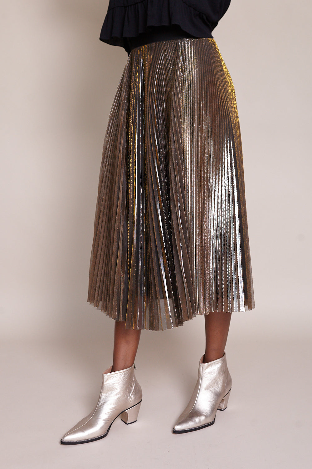 Romana Skirt in Gold