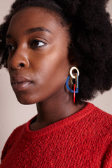 Stella Earrings in Americana