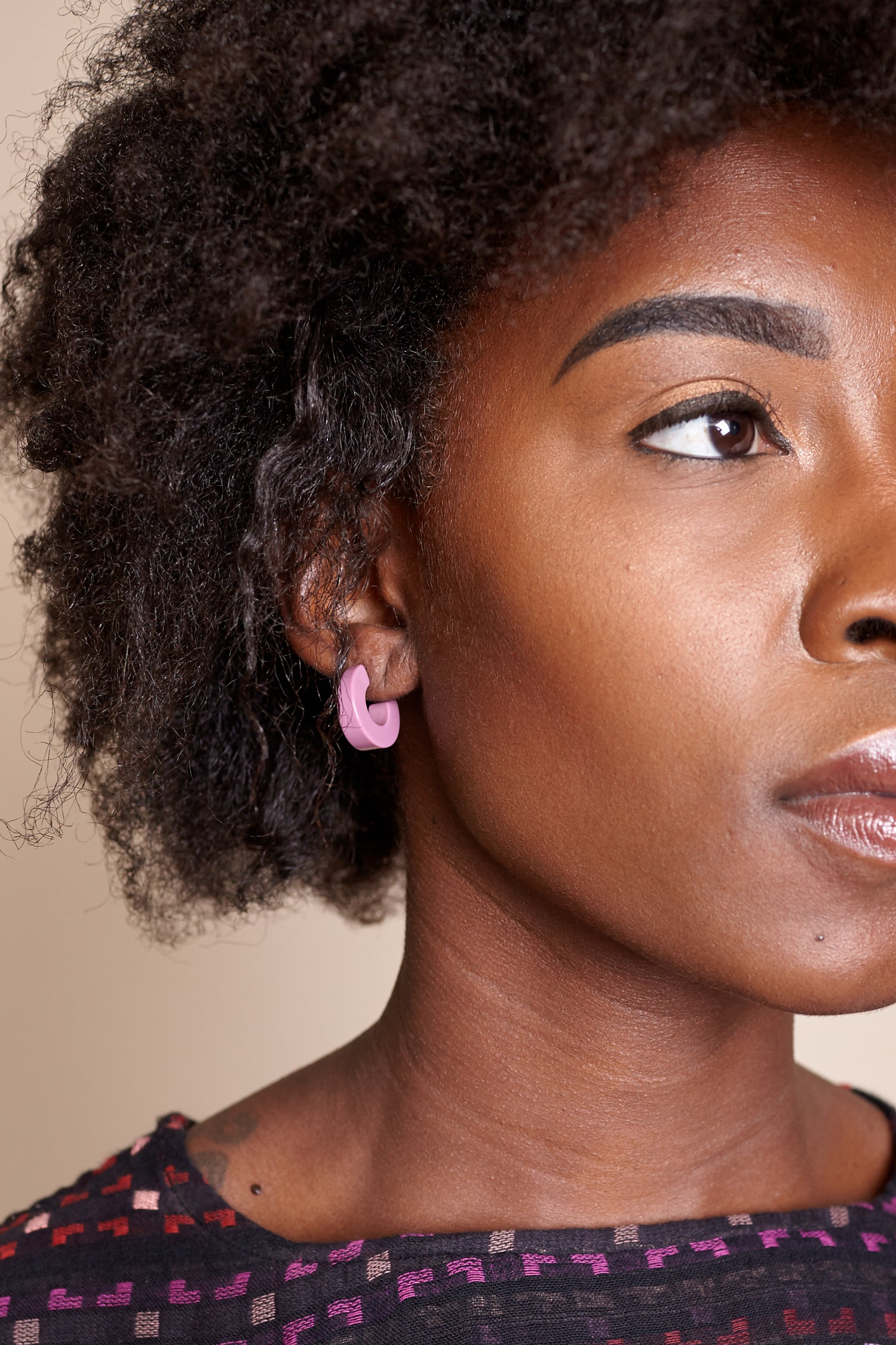 Cuba Earrings in Pink