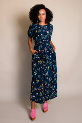 Theos Jumpsuit in Floral