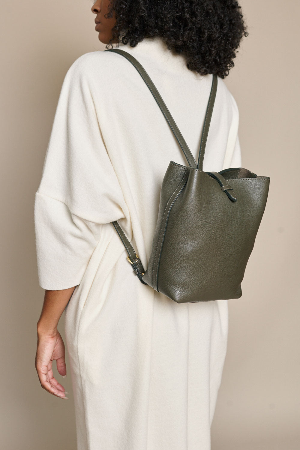 The Mini Sling Bag in Olive