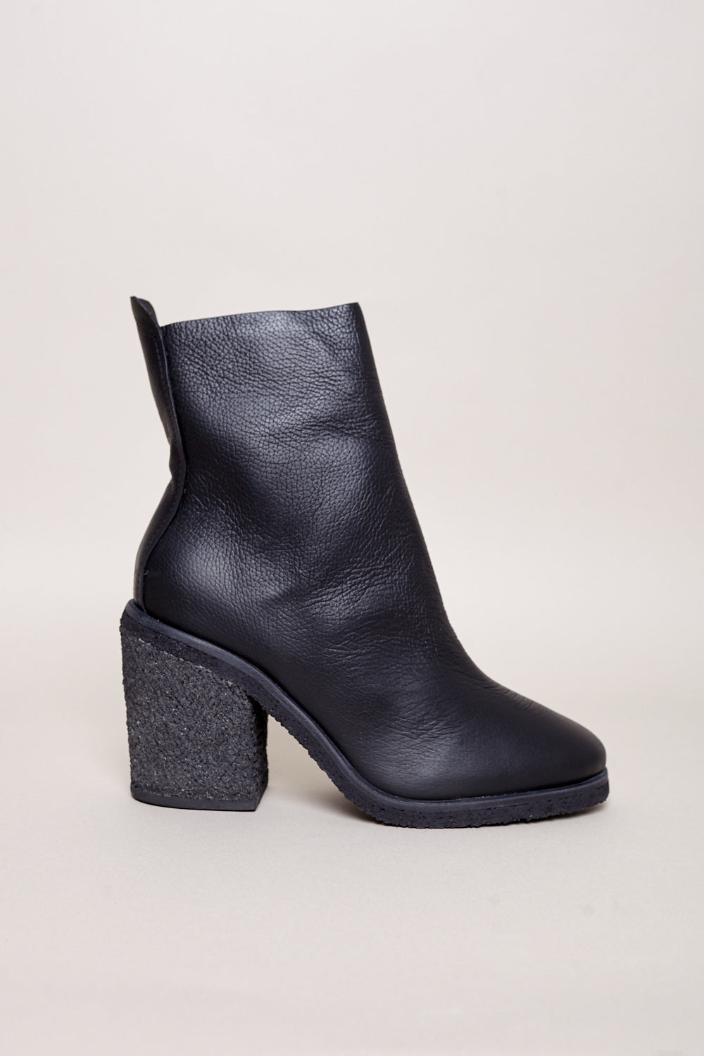 Briggs Ankle Boot in Black Calf