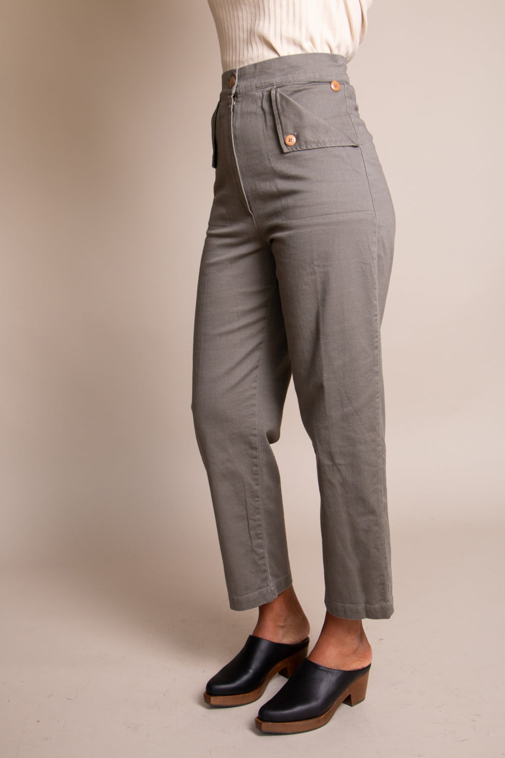 Huxie Pants in Peat