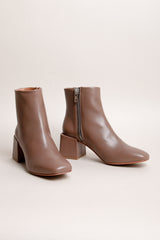 Lazaro Square Toe Boots in Mink