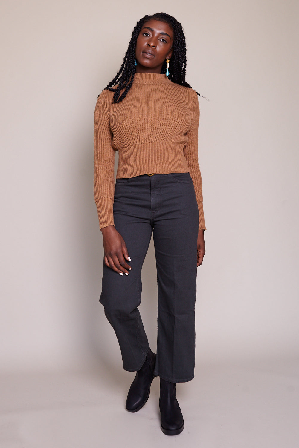 Pennon Pant in Charcoal