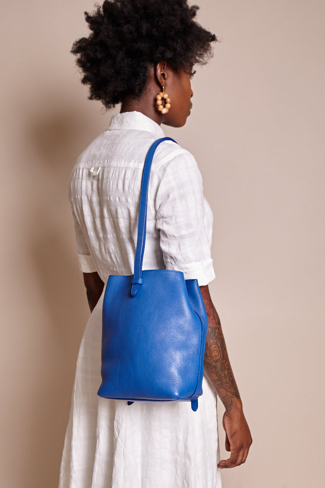 The Mini Sling Bag in Electric Blue