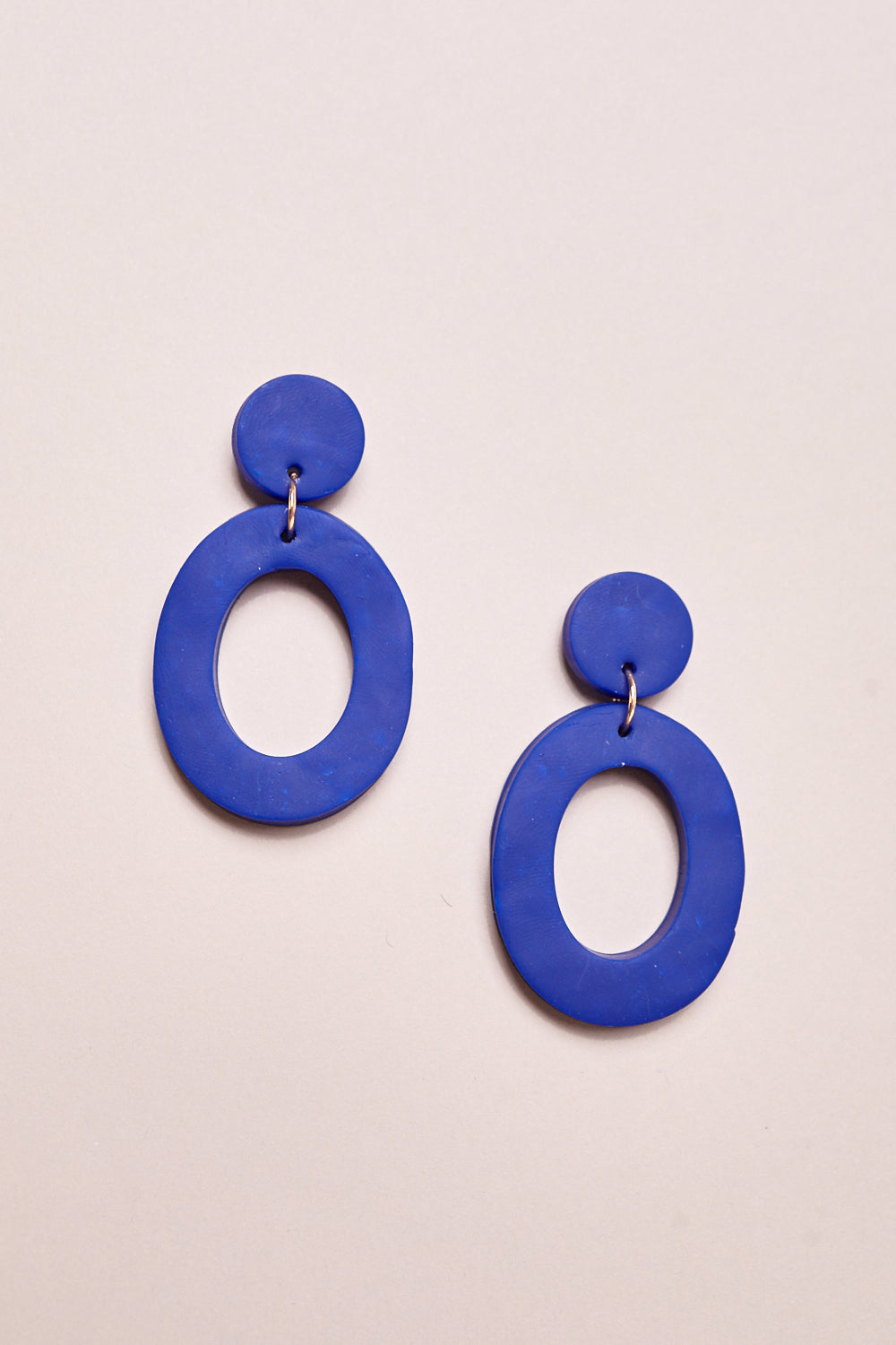 Jemma Earrings in Royal