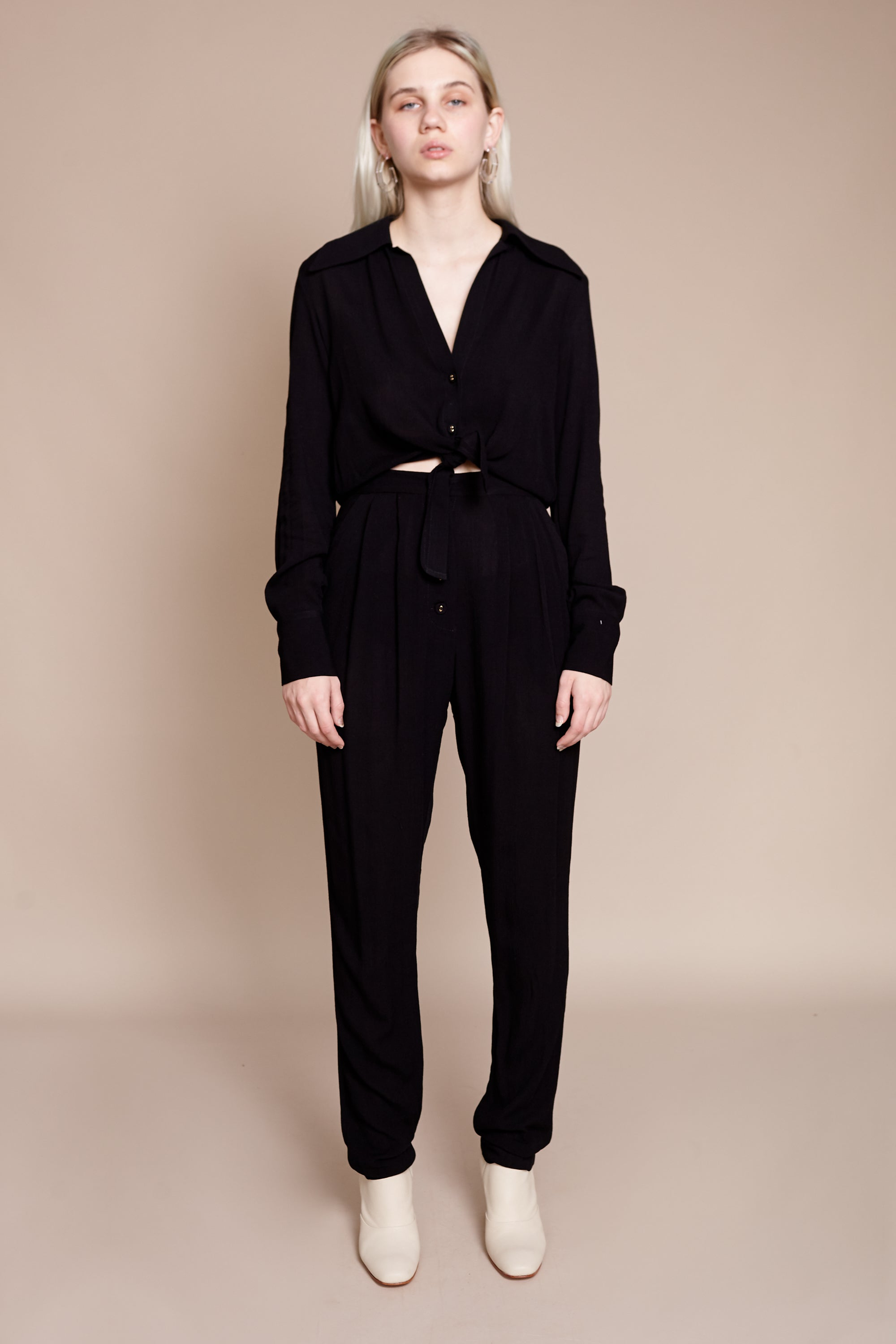 Rachel Comey Luana Jumpsuit in Black - Vert & Vogue
