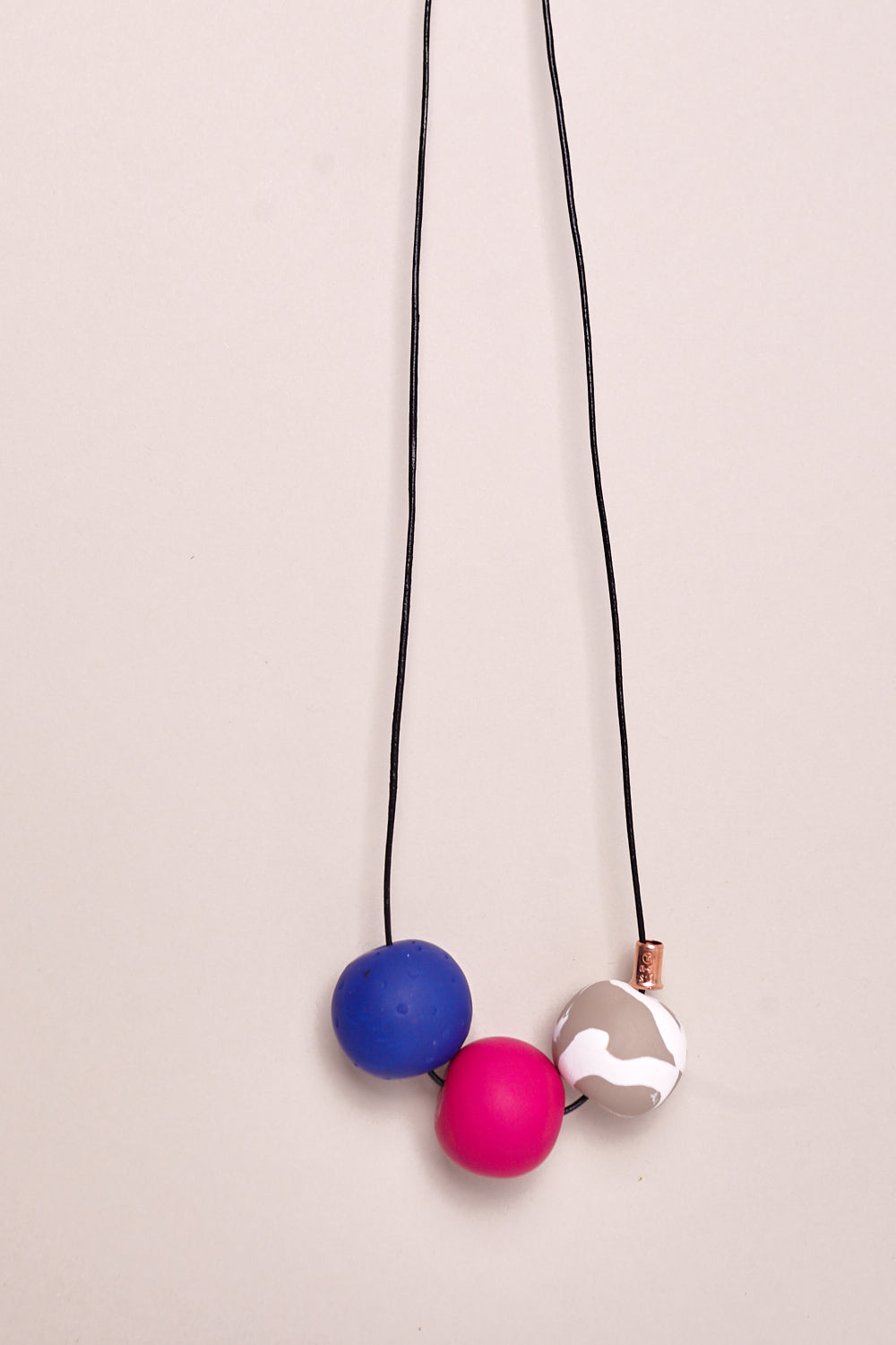 The Andy Necklace in Fuchsia Royal