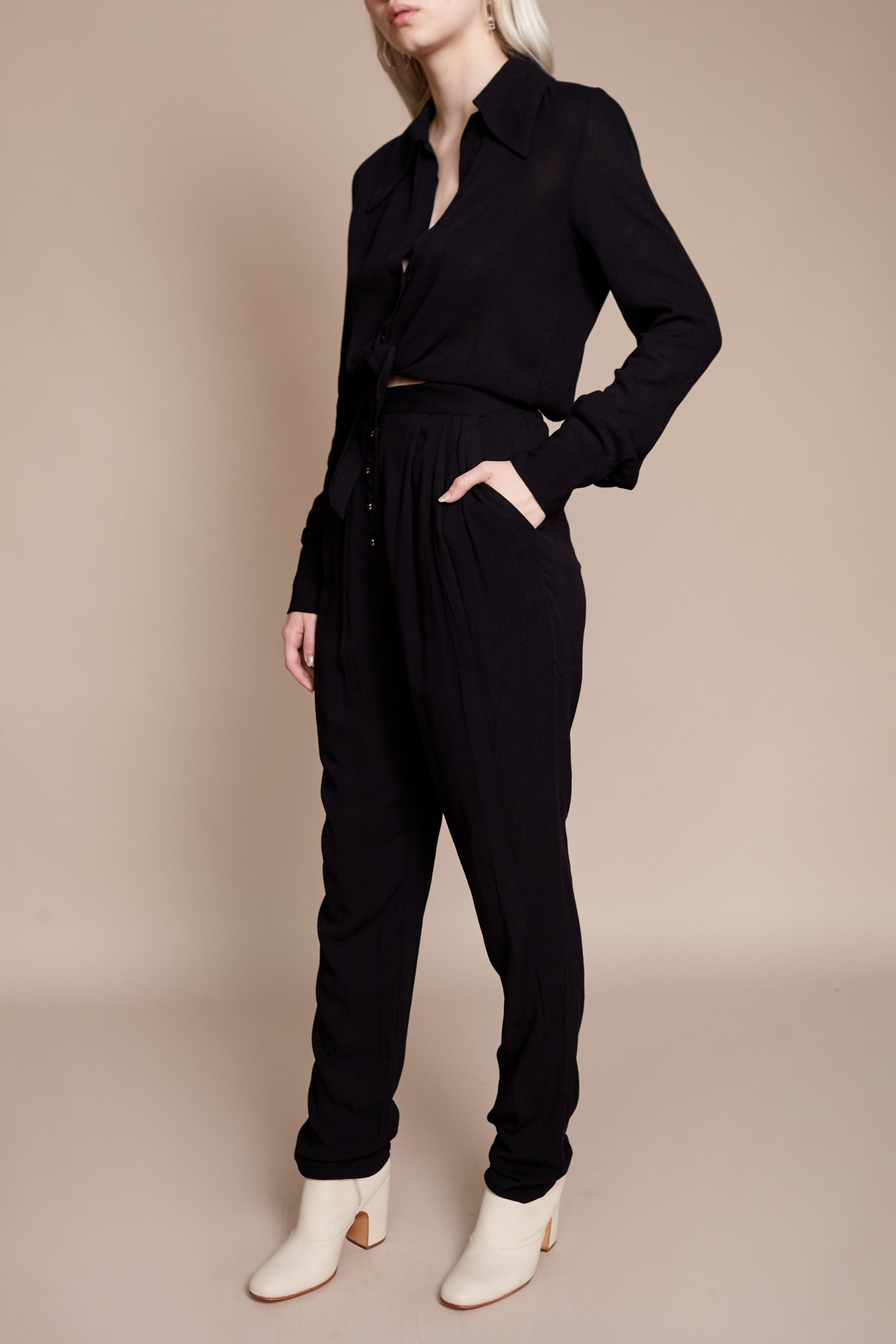Luana Jumpsuit in Black