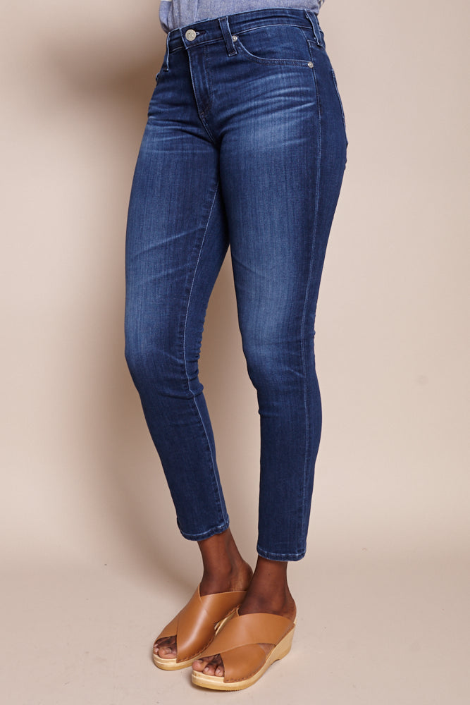 Prima Cigarette Ankle Jeans in 5 Years Blue Essence
