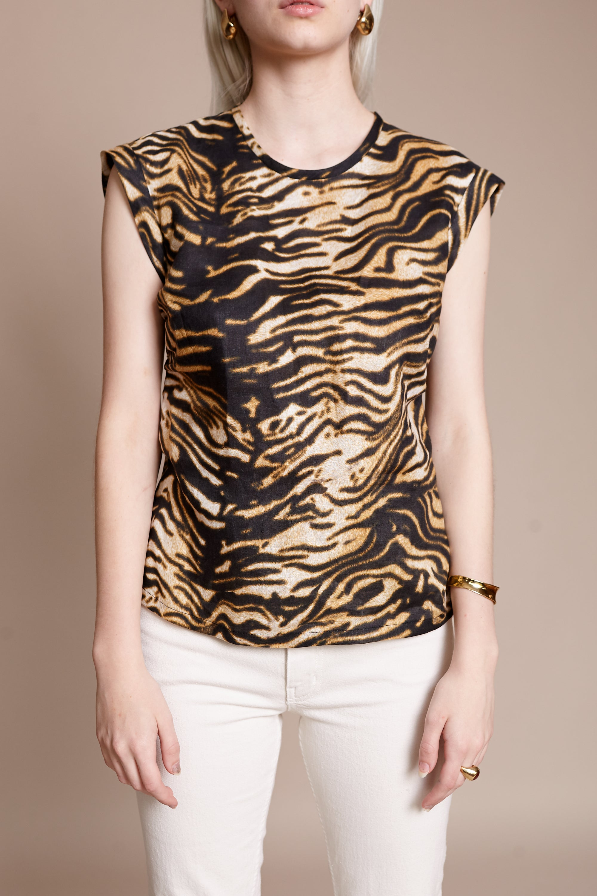 Variance Top in Brown