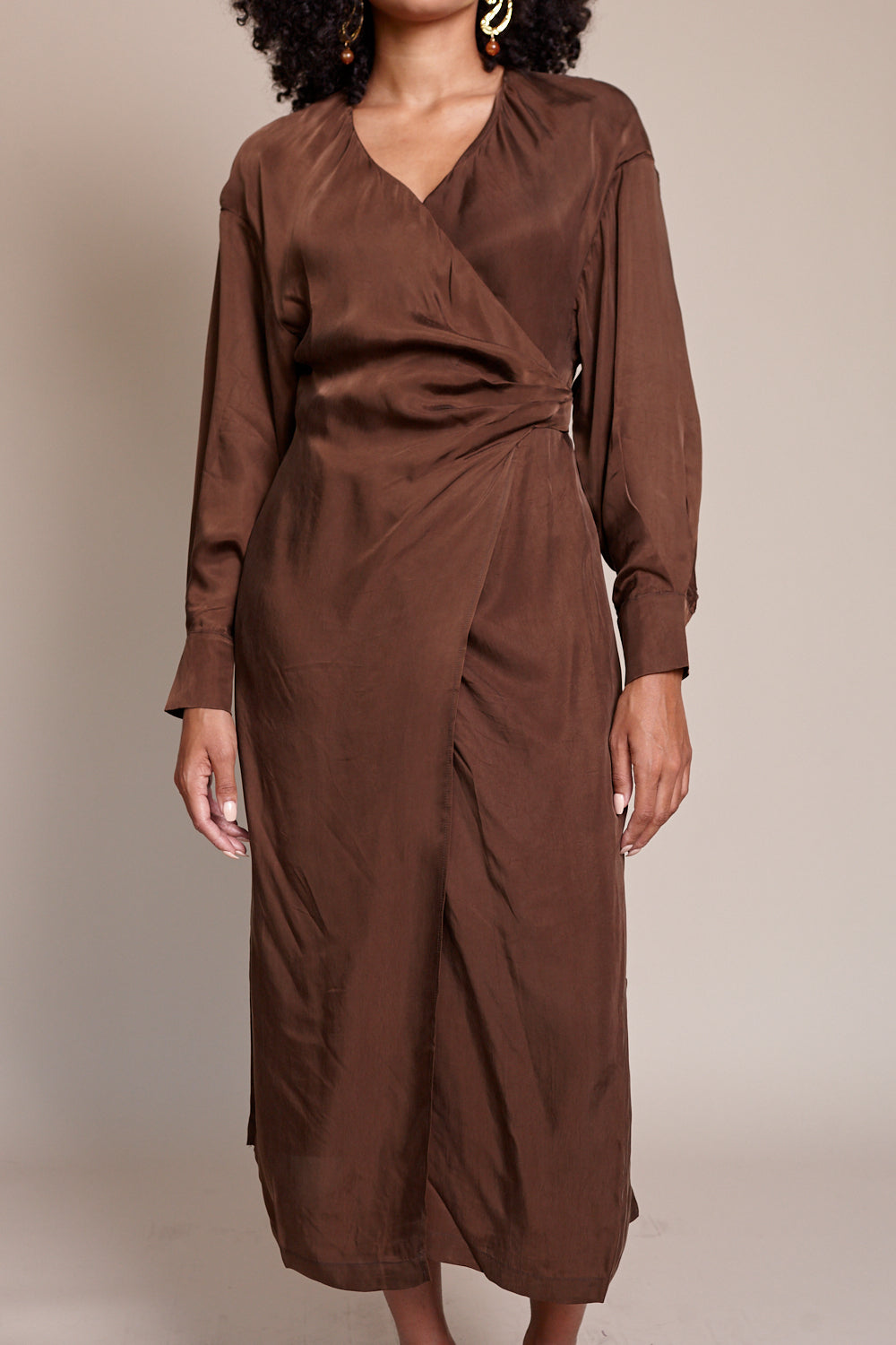 Palermo Dress in Earth
