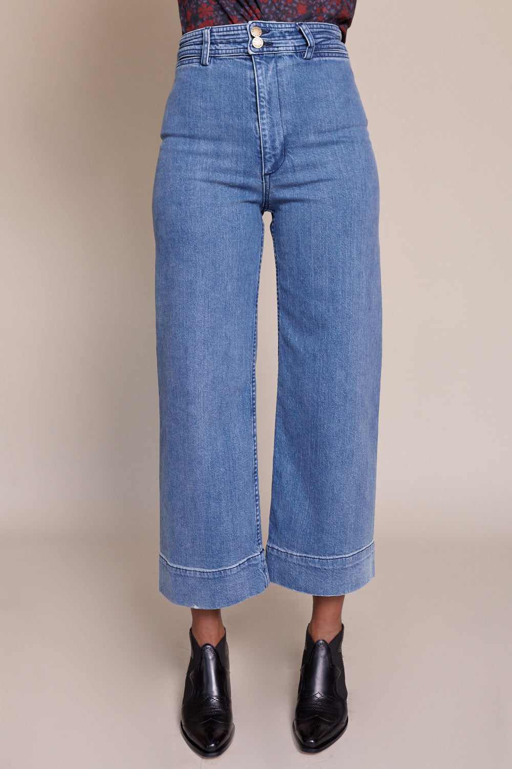 Merida Denim Pant in Classic Stonewash