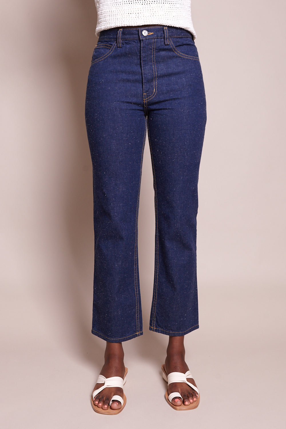 New Norm Pant in Raw Indigo