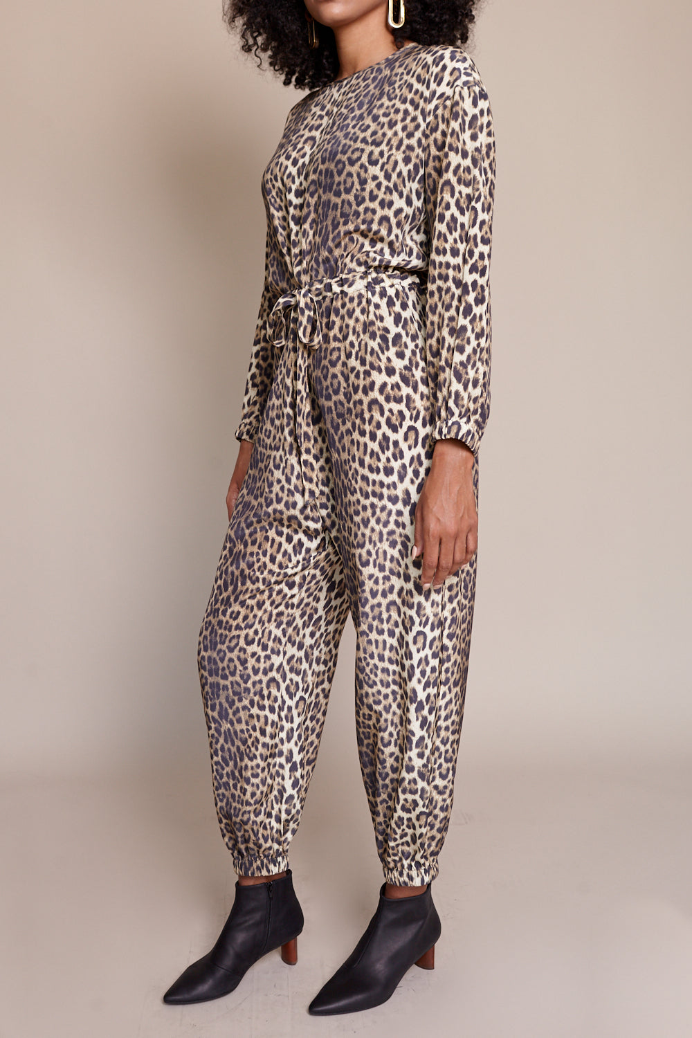 Hilma Jumpsuit in Leopard