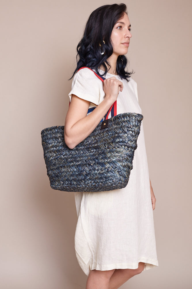 Woven Le Big Sac In Midnight