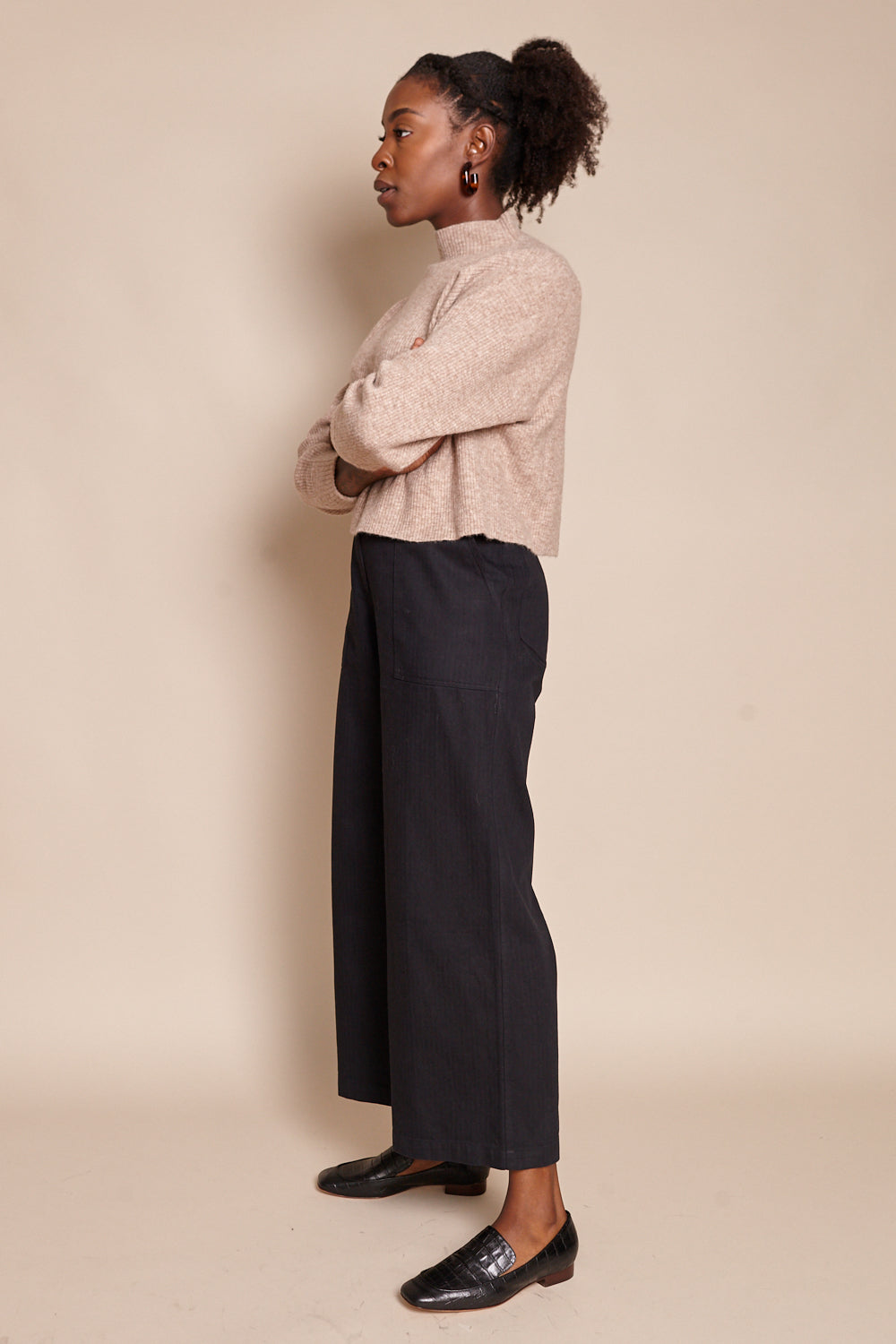 Cargo Trouser in Black