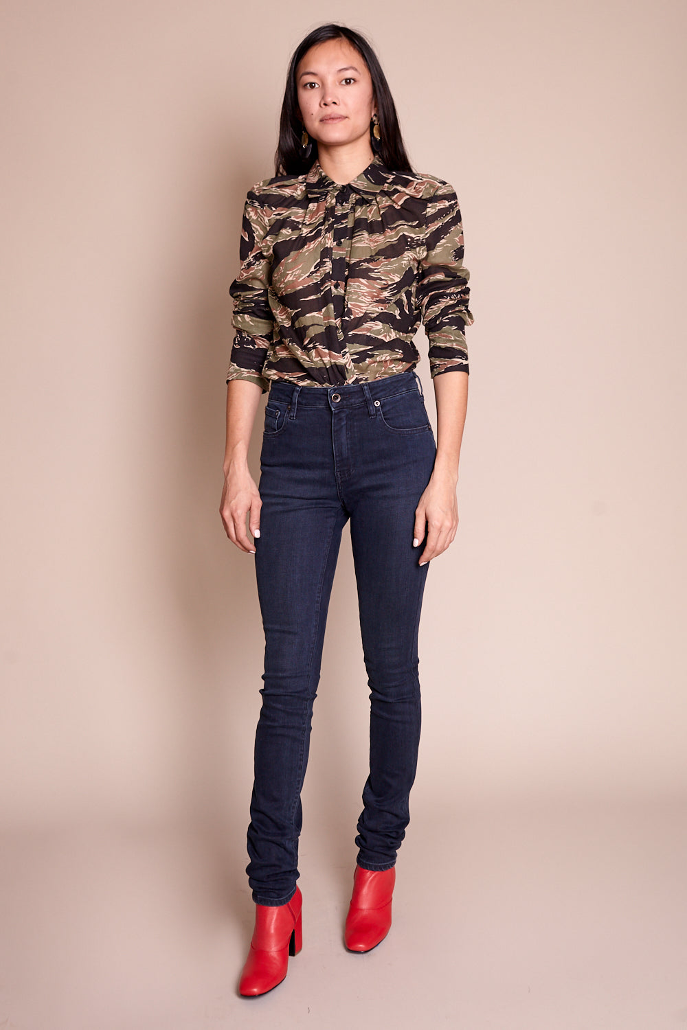 Haywood High Rise Skinny Jean in Canon