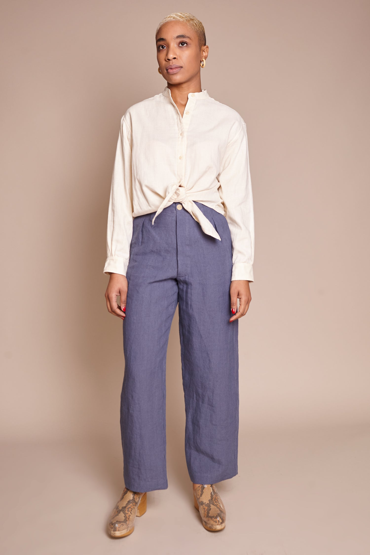 Sailor Pant in Cornflower Blue