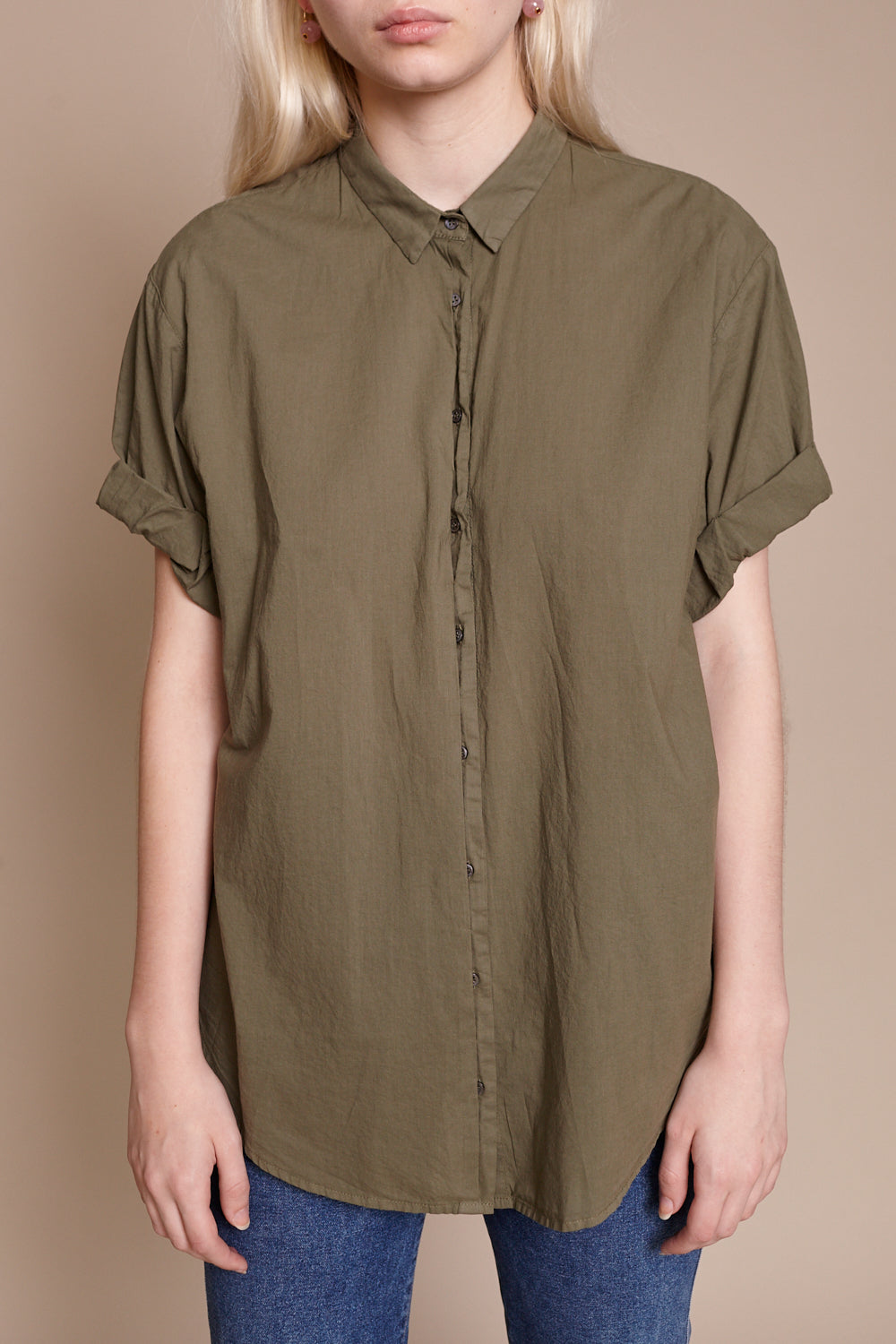 Channing Shirt in Bottle Green