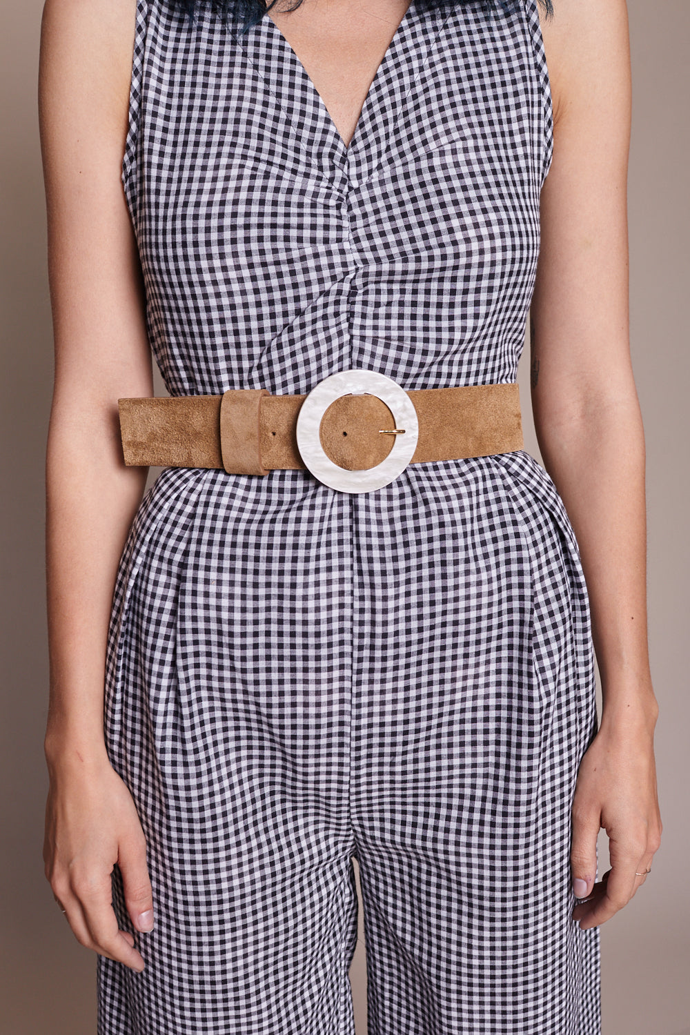 Louise Belt in Camel