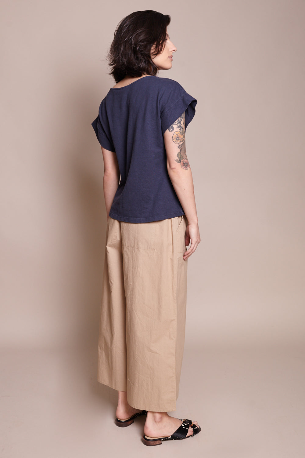 Taos Top in Navy