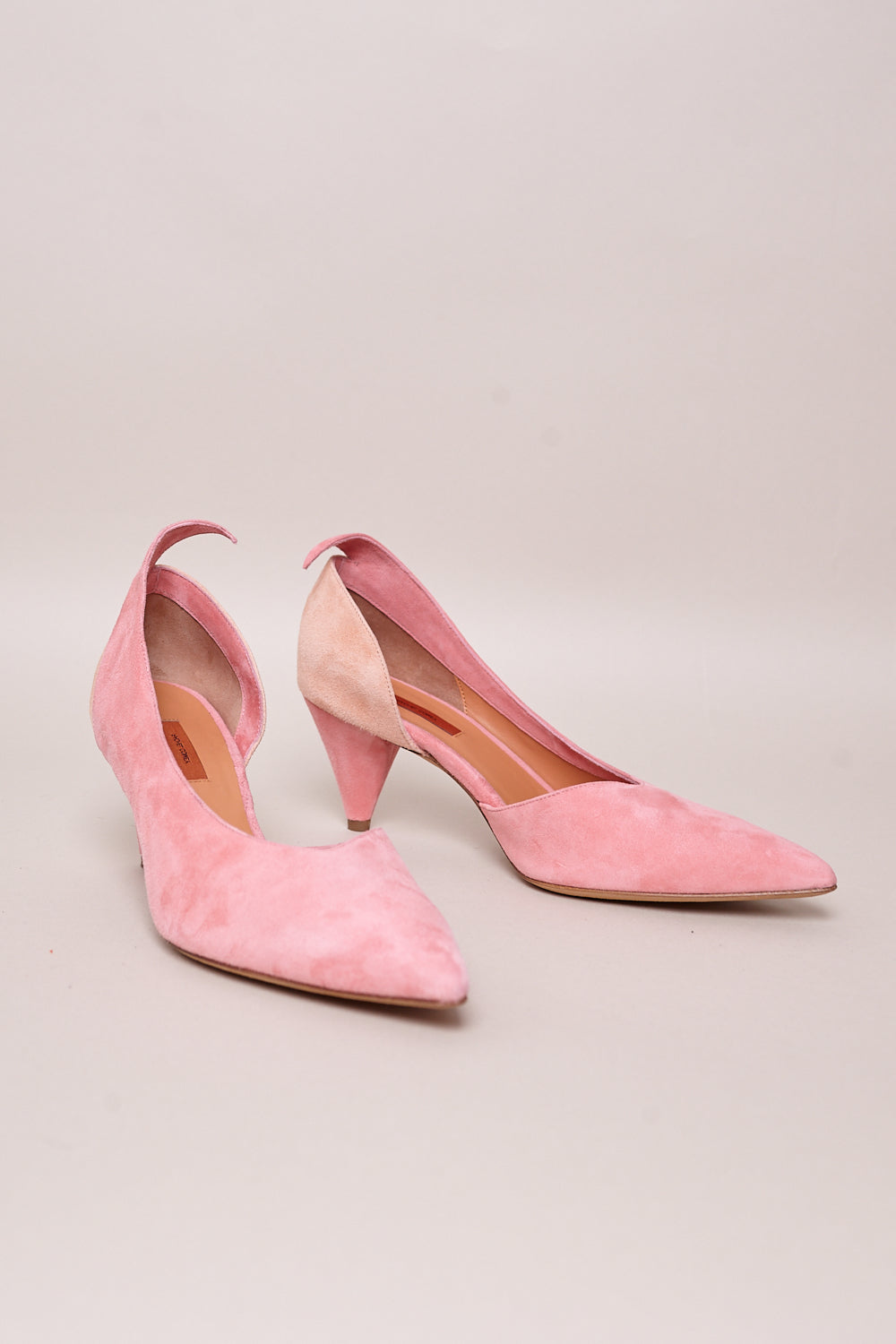 Fount Heel in Pink