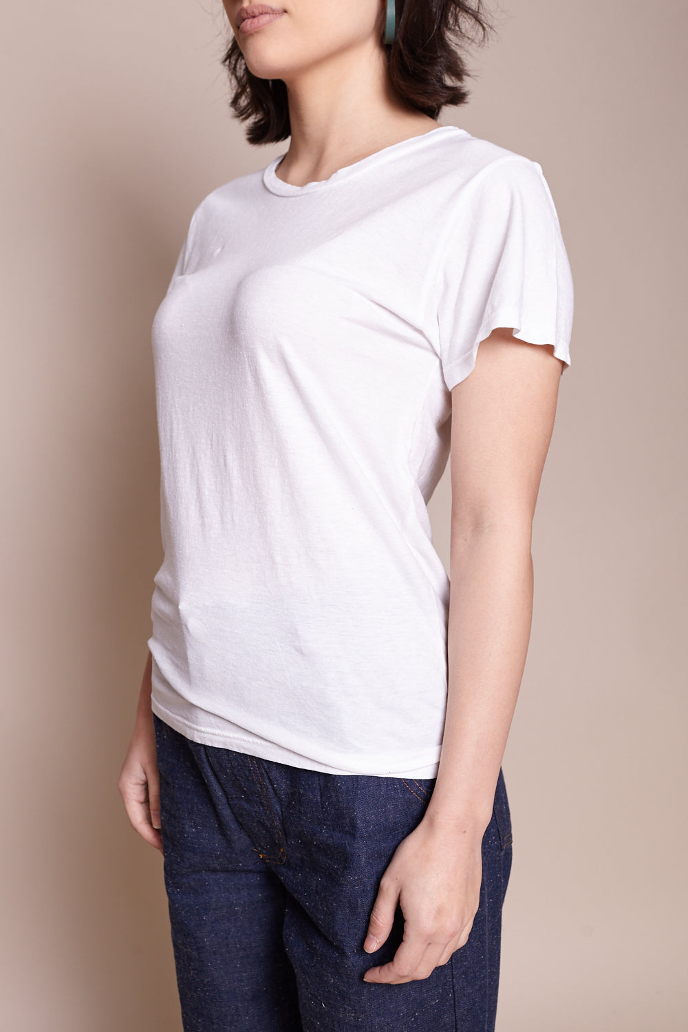 Ojai Tee in Optic White
