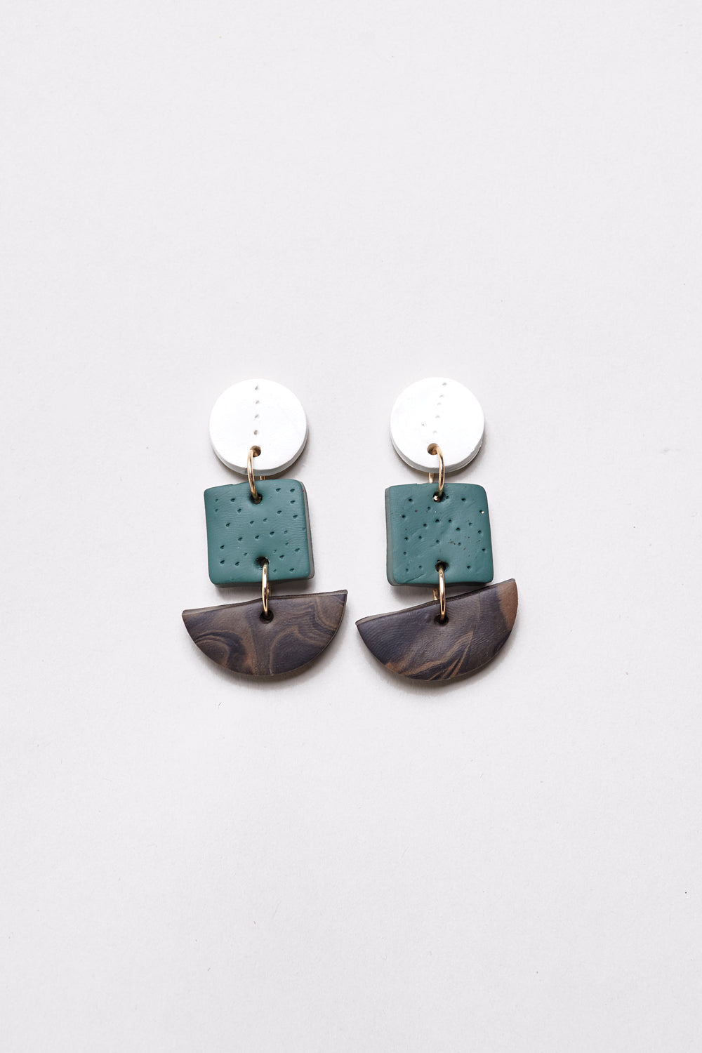 Quinn Earrings in Green