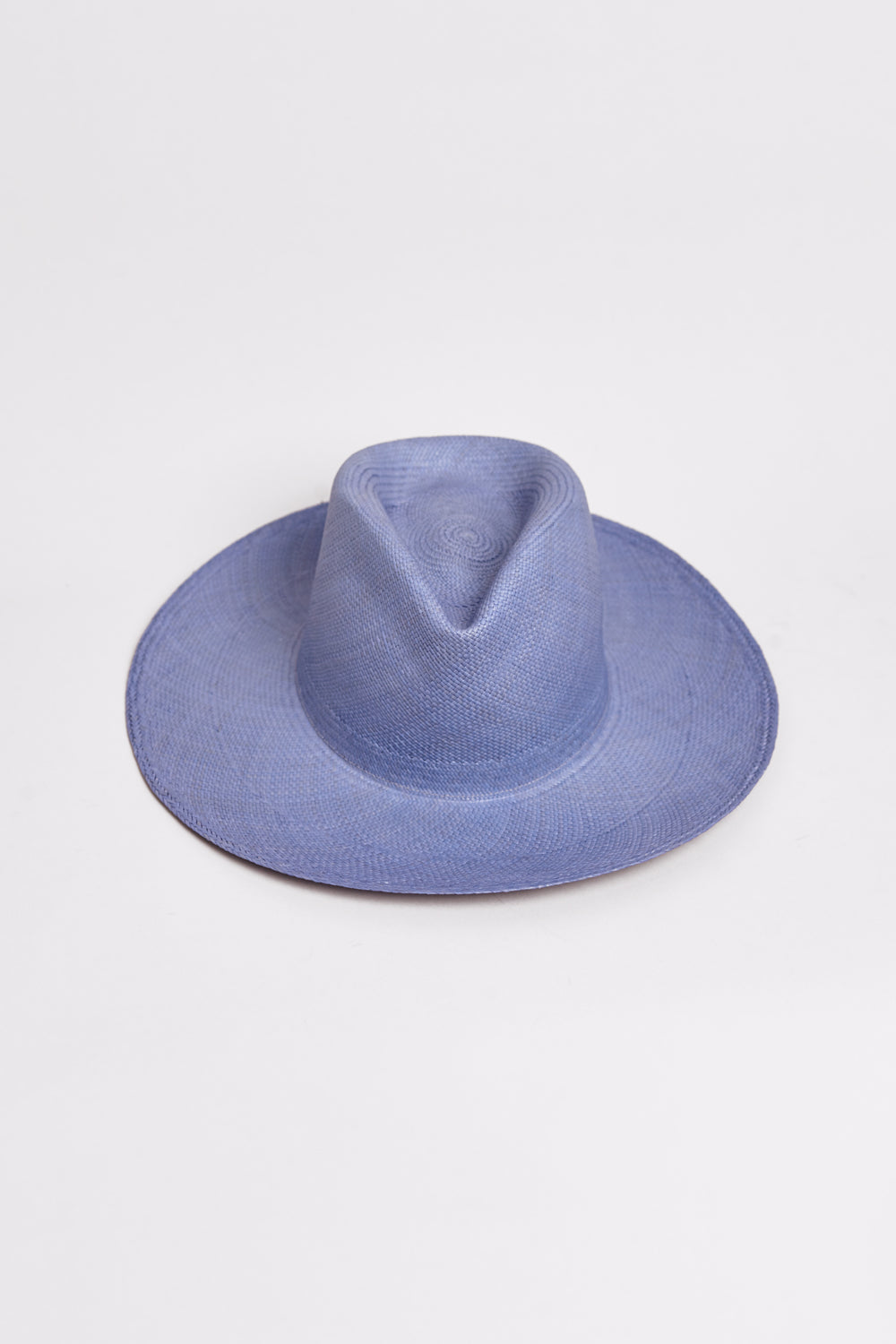 Pinch Hat in Denim Blue
