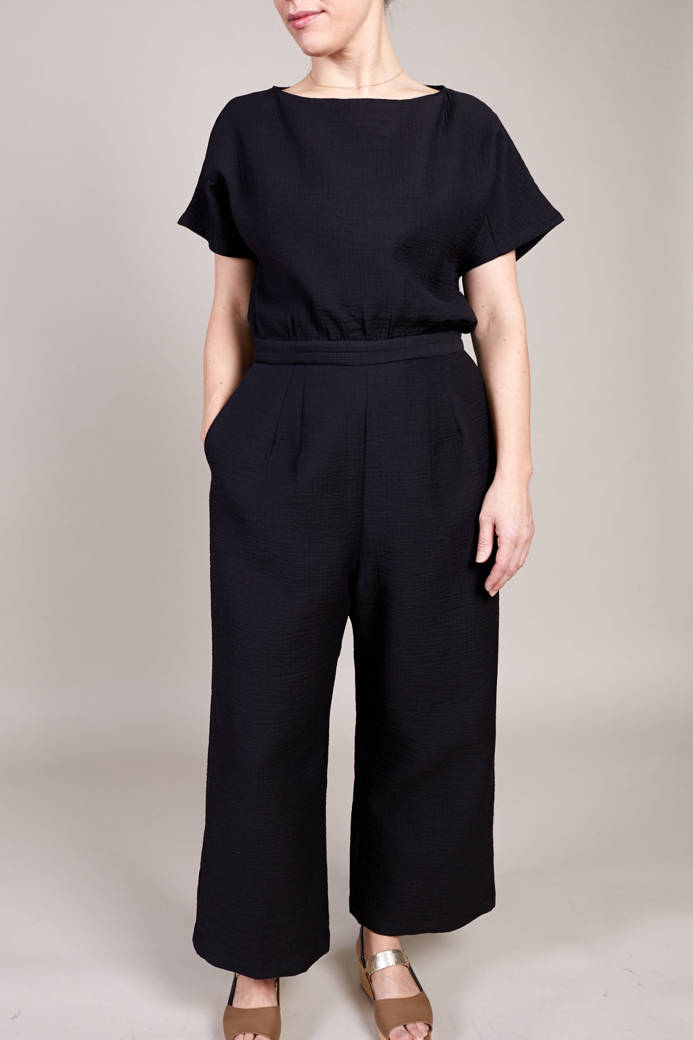 Benedict Jumpsuit in Black