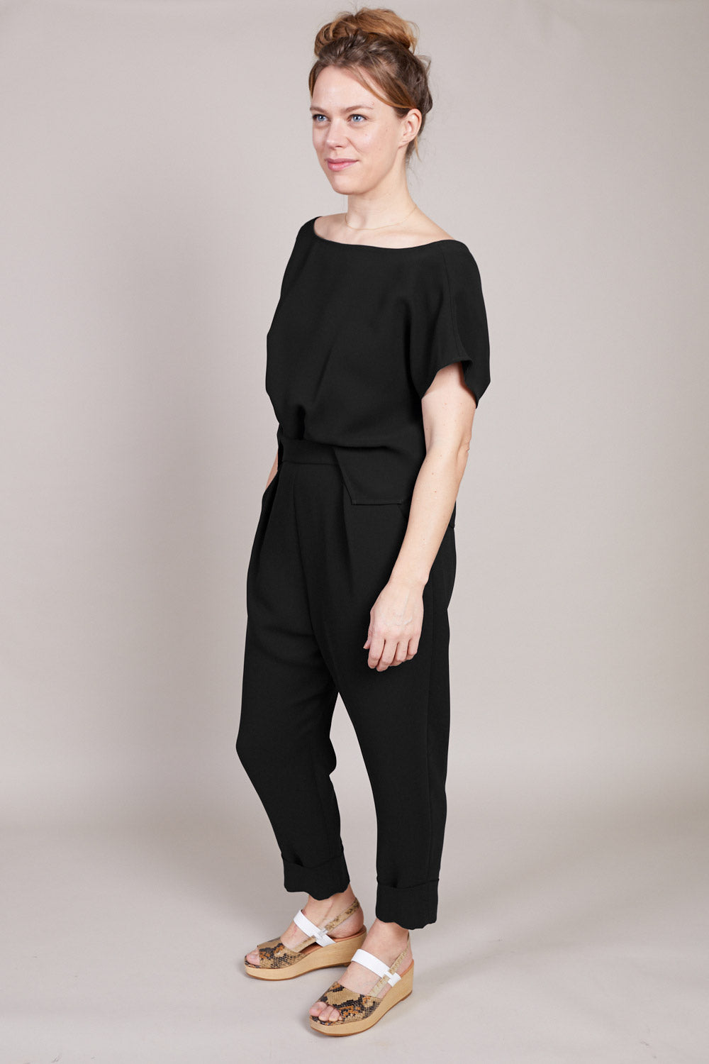 Paloma Jumpsuit in Black