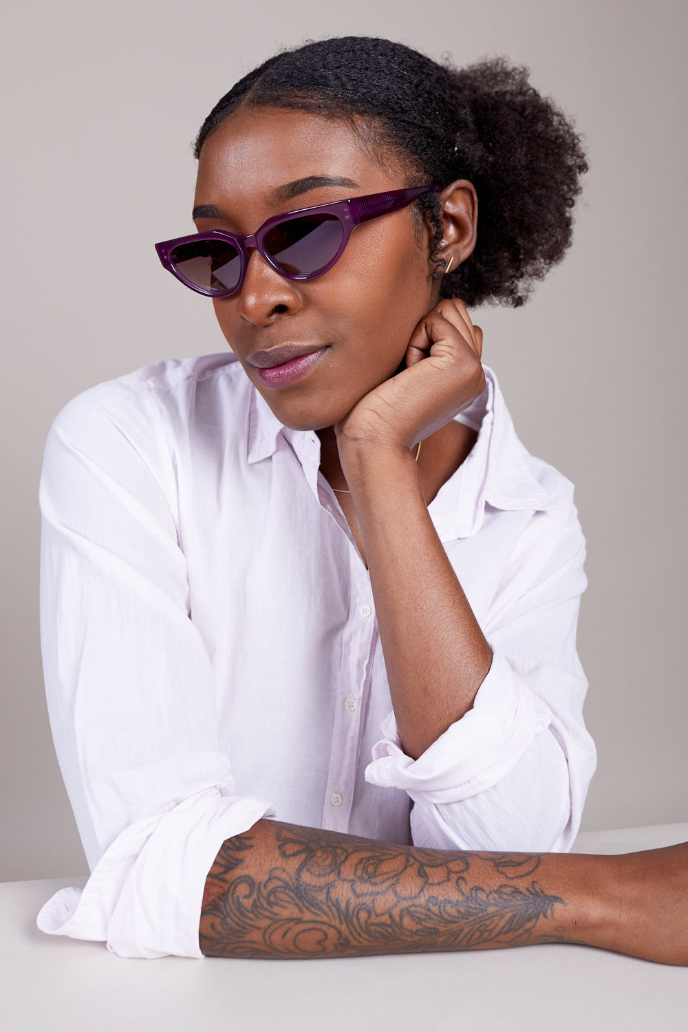 Acie Sunglasses in Purple Haze