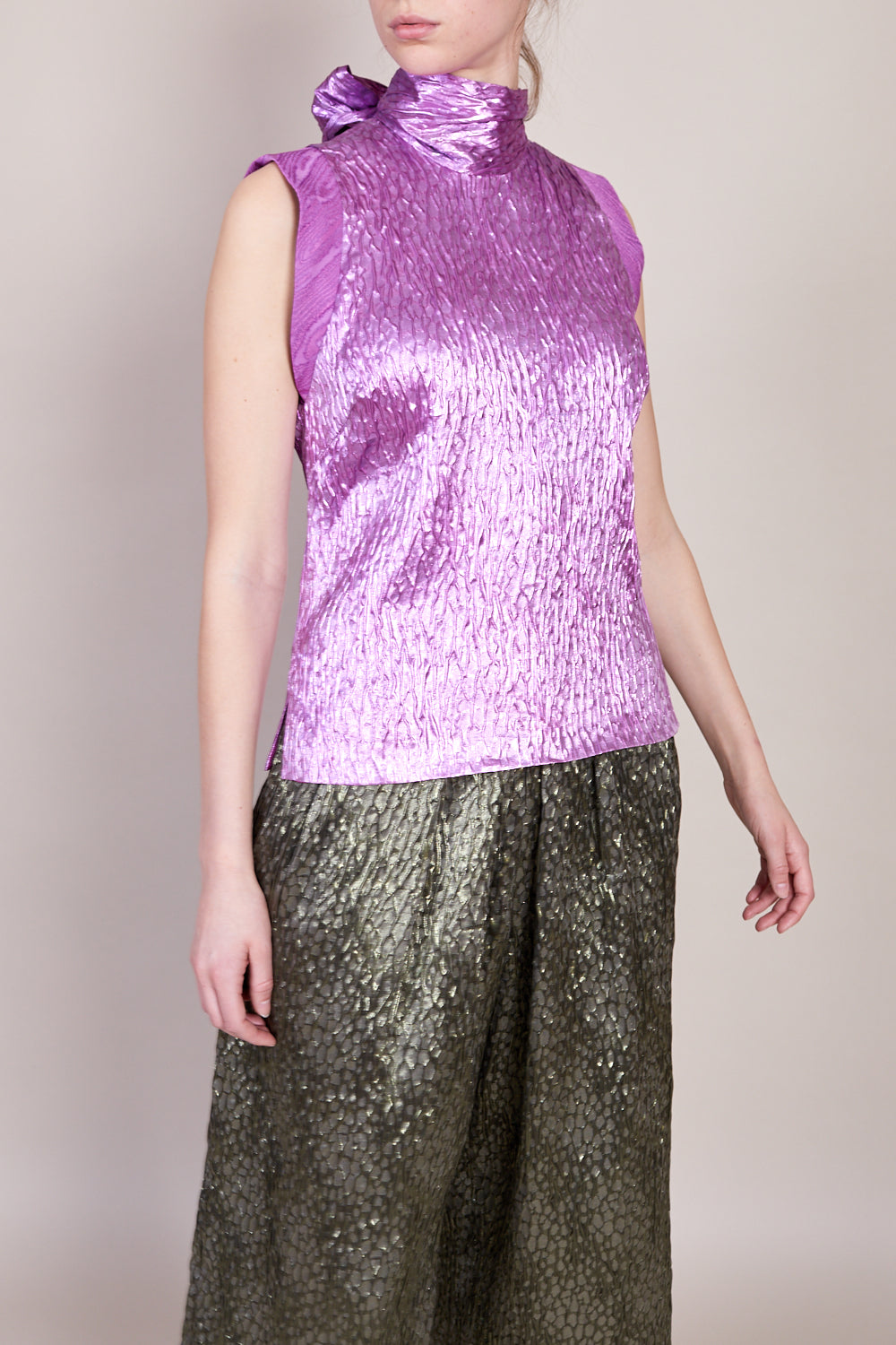 Rachel Comey Mirar Top in Orchid - Vert & Vogue