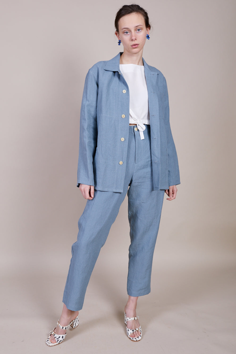 Chore Coat in Steel Blue