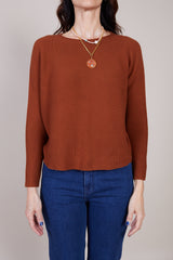 Christian Wijnants Kain Long Sleeve Shirt in Chestnut - Vert & Vogue