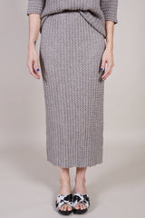 Lauren Manoogian Origami Skirt in Zinc - Vert & Vogue