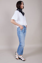 Amo Denim Carpenter Pant in Lovestruck - Vert & Vogue