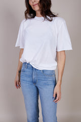 Save Khaki United Short Sleeve Tee in White - Vert & Vogue