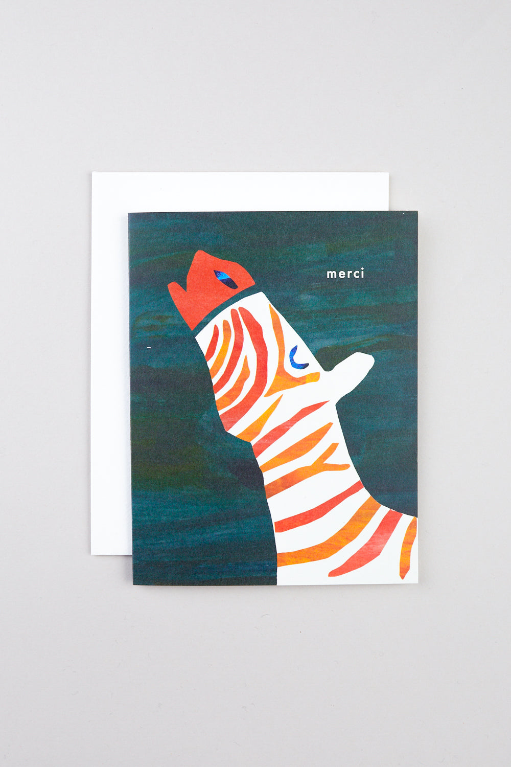 Zebra Merci Card