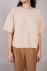 Christian Wijnants Koda Blouse in Beige - Vert & Vogue